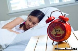 ребёнок просыпается